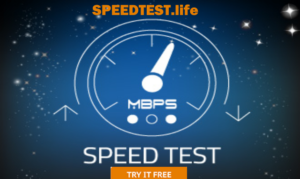speed test your internt